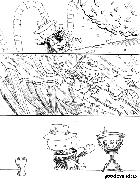 Kitty Did NOT Get The Part Of Indiana Jones (GBK#573)