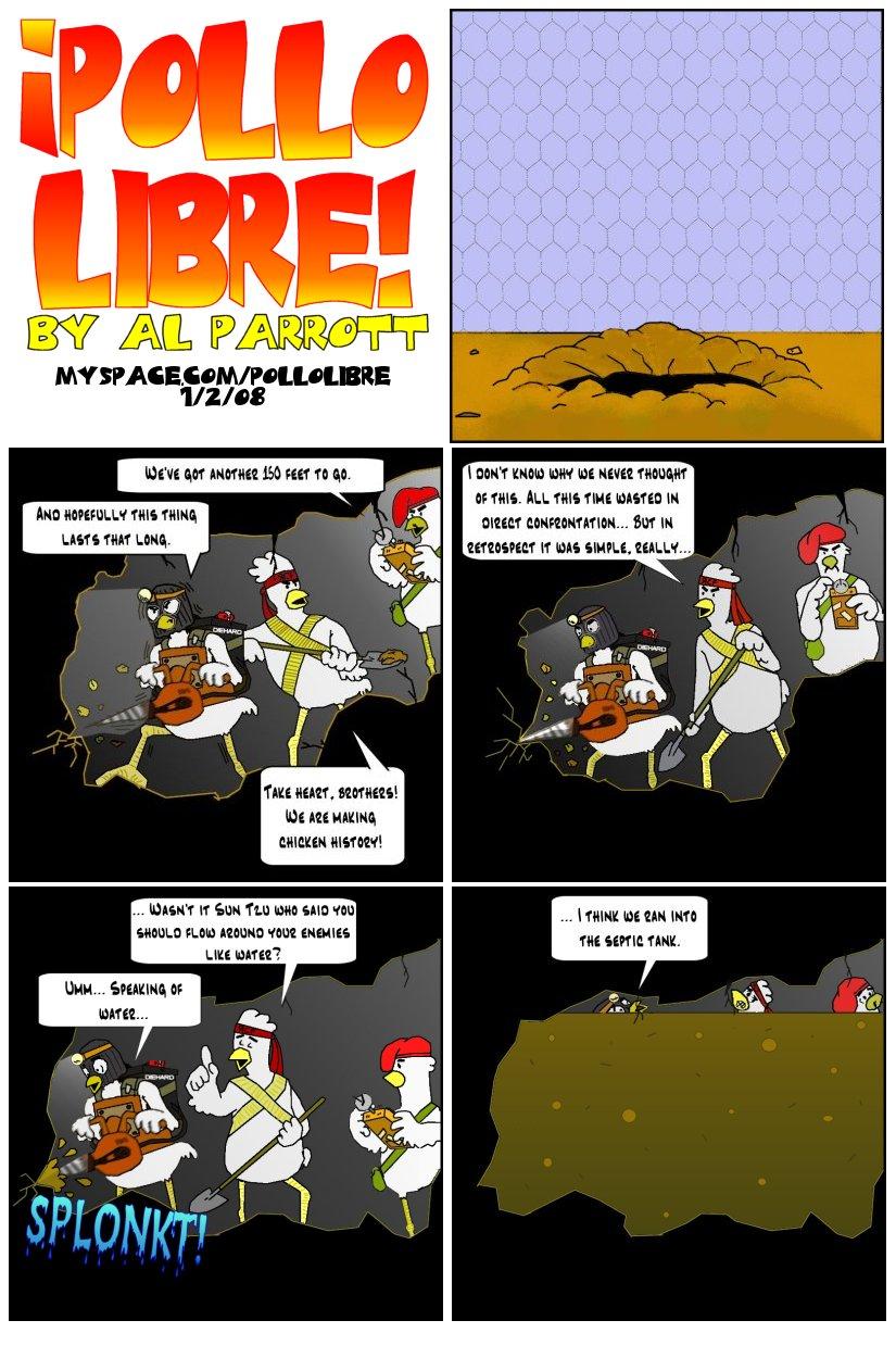 Pollo Libre 1 - The Shawblank Redemption?