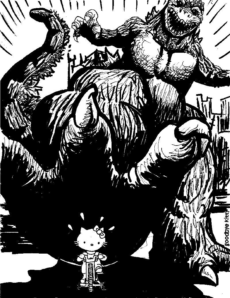 Go Go Godzilla (GBK#98)